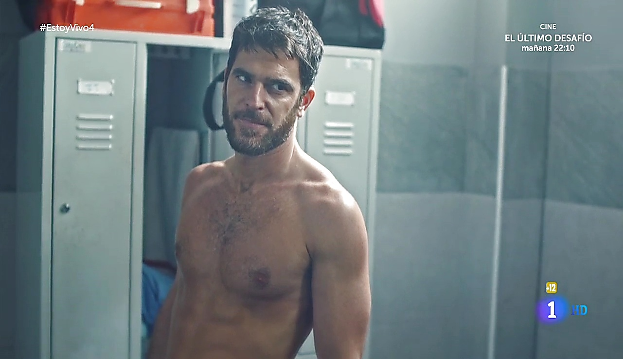 Alfonso Bassave sexy shirtless scene September 30, 2017, 1pm