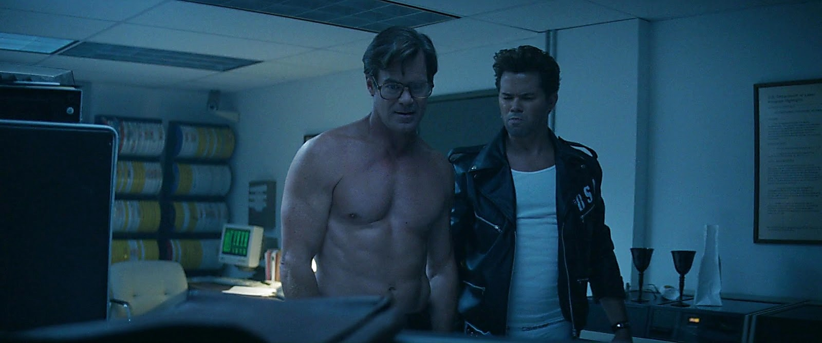 Andrew Rannells sexy shirtless scene June 28, 2020, 3pm