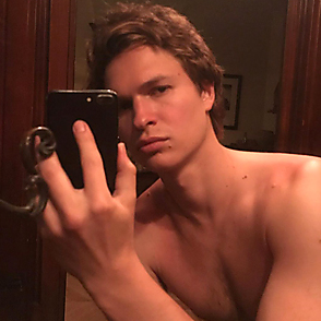 Ansel Elgort latest sexy shirtless May 29, 2019, 12am