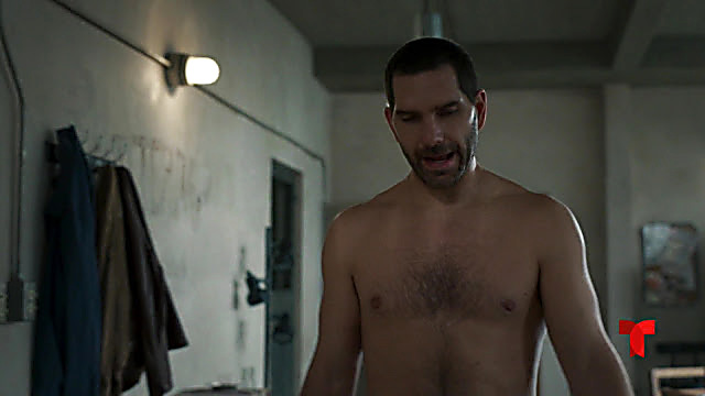 Arap Bethke sexy shirtless scene March 3, 2021, 6am