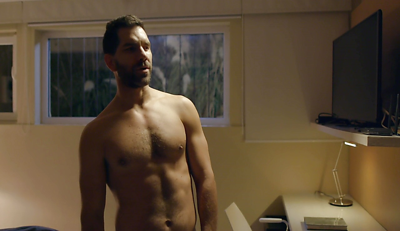 Arap Bethke sexy shirtless scene August 8, 2018, 10am