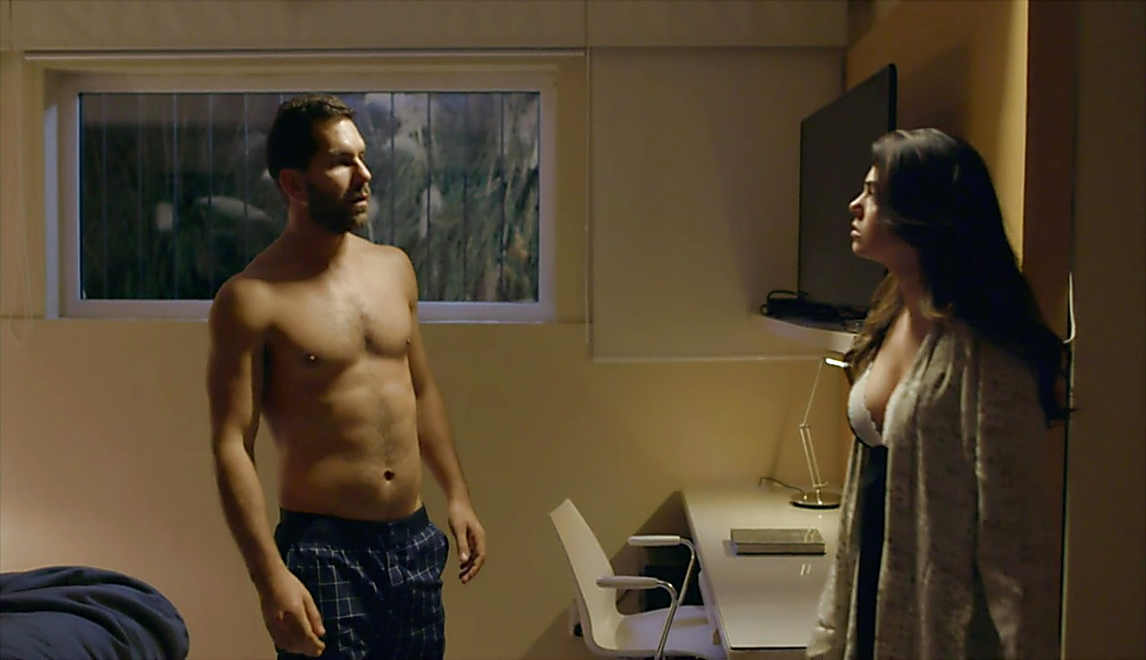 Arap Bethke sexy shirtless scene August 8, 2018, 10am