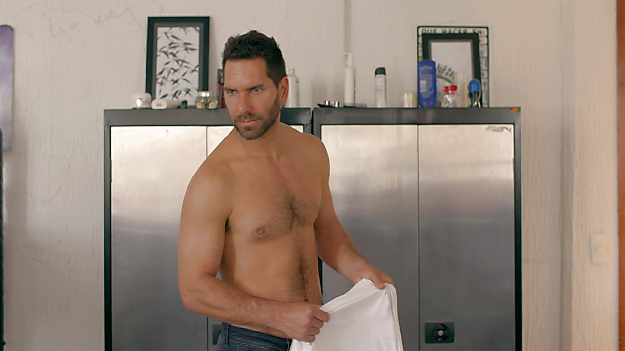 Arap Bethke sexy shirtless scene August 30, 2018, 12pm
