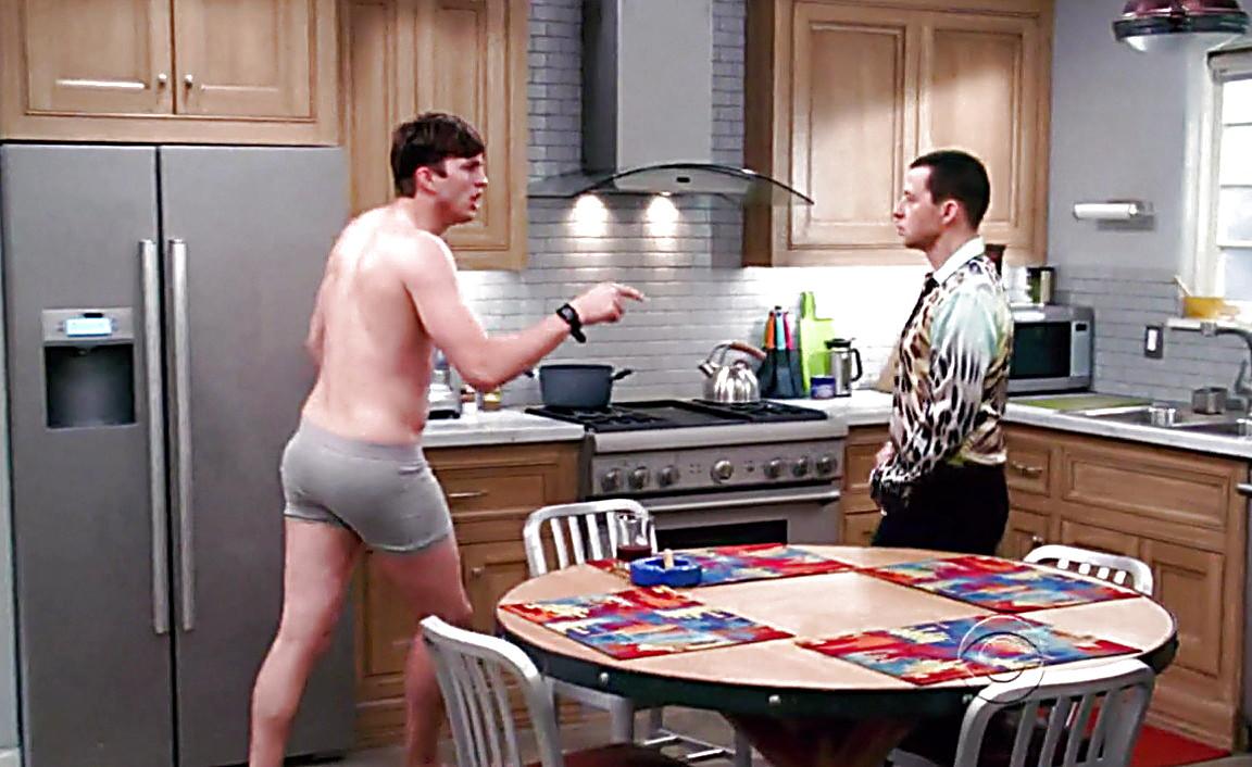 Ashton Kutcher sexy shirtless scene May 15, 2014, 6pm