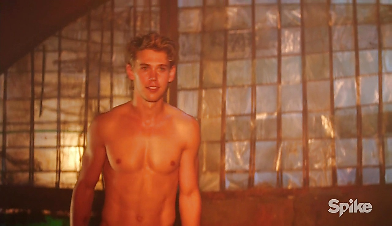 Austin Butler latest sexy shirtless scene October 12, 2017, 12pm