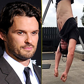 Austin Nichols latest sexy shirtless December 15, 2016, 11pm