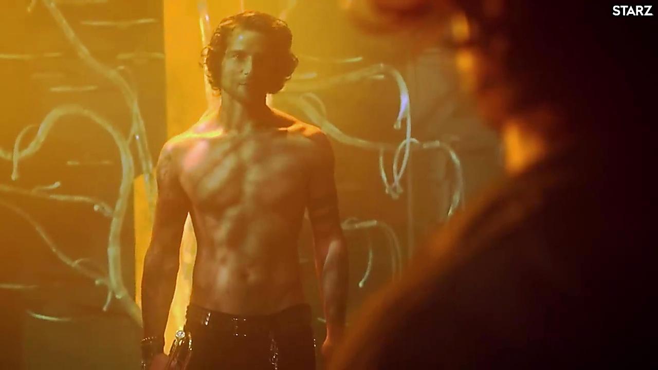 Avan Jogia sexy shirtless scene January 21, 2019, 1pm