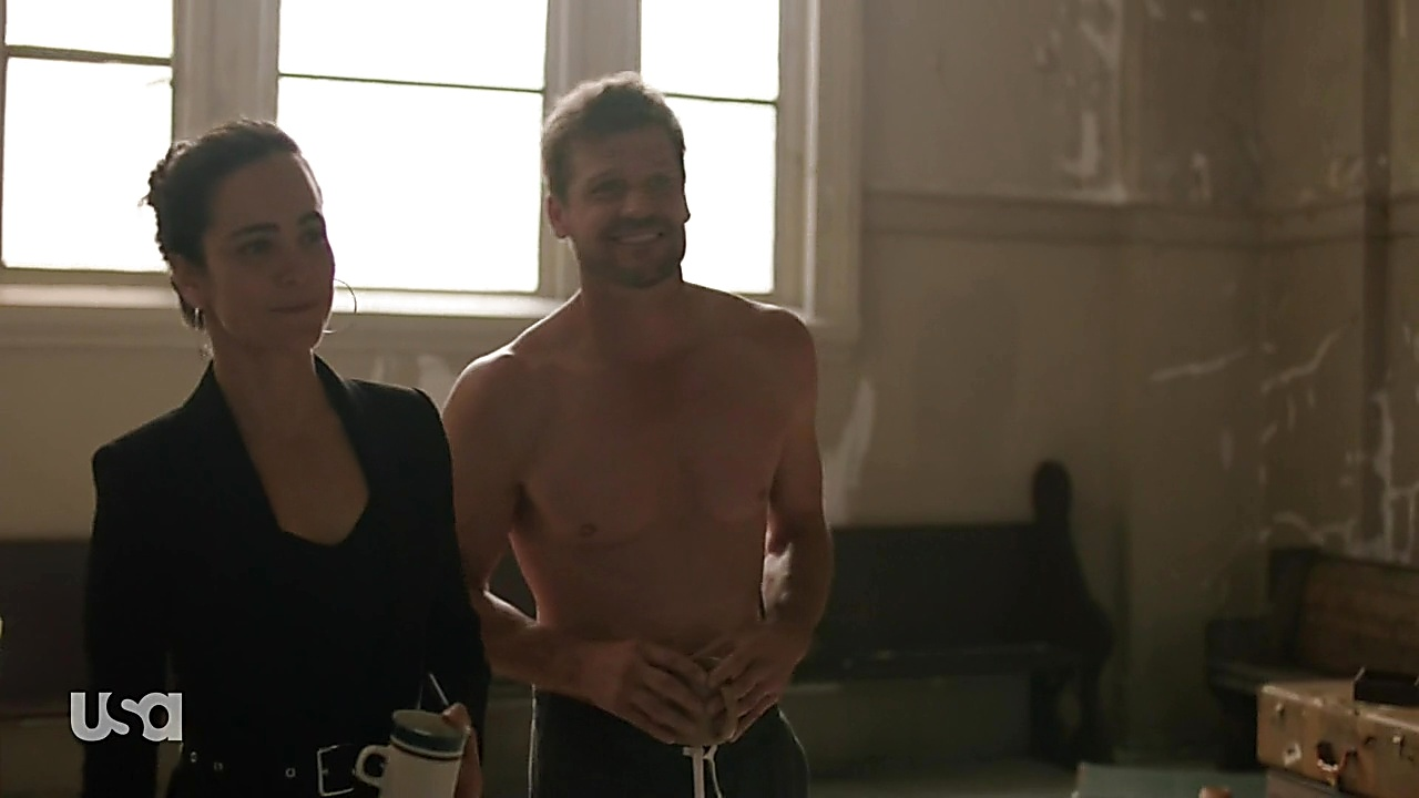 Bailey Chase sexy shirtless scene June 28, 2019, 3pm