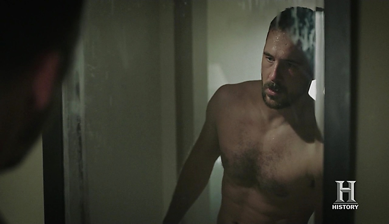 Barry Sloane sexy shirtless scene August 2, 2018, 12pm