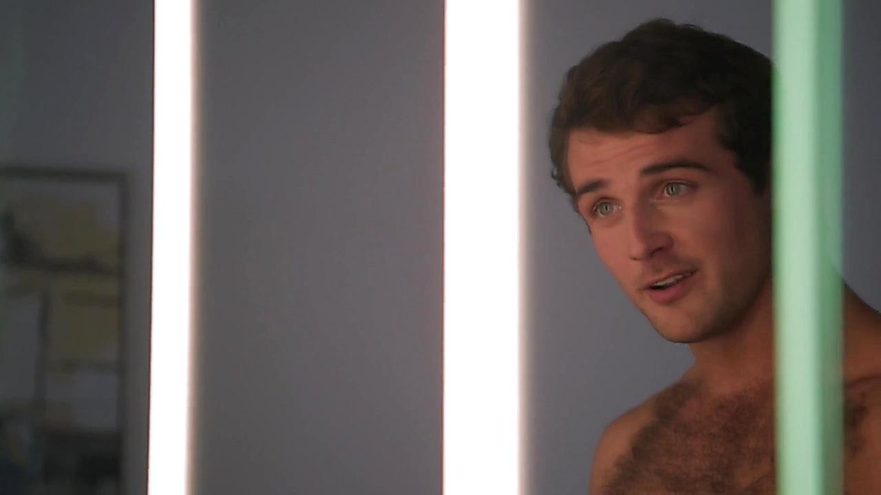 Beau Mirchoff sexy shirtless scene December 20, 2019, 6am