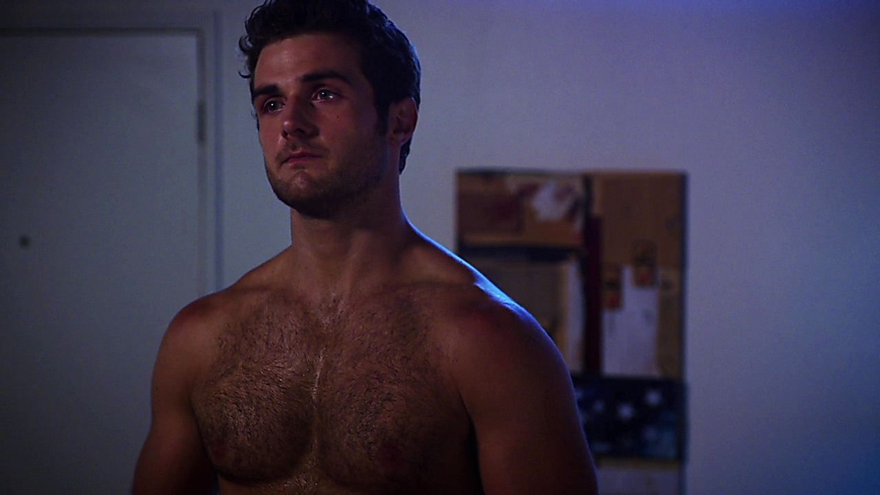 Beau Mirchoff sexy shirtless scene March 17, 2019, 11am