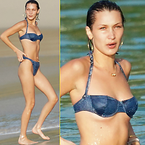 Bella Hadid latest sexy shirtless January 1, 2020, 12pm