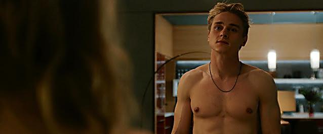 Ben Hardy sexy shirtless scene September 10, 2021, 4am