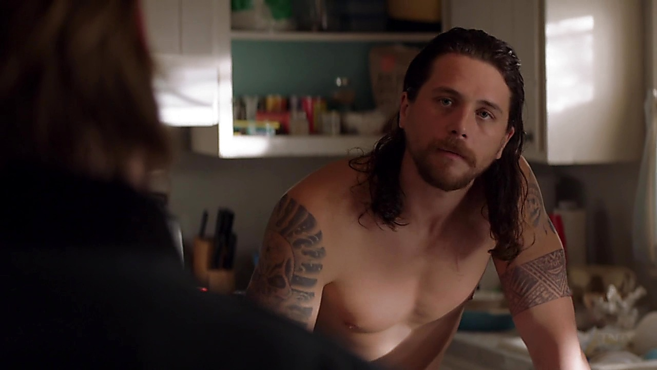 Ben Robson sexy shirtless scene June 20, 2019, 1pm