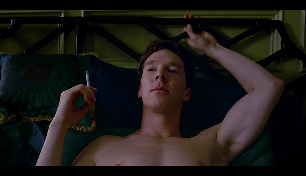 Benedict Cumberbatch latest sexy shirtless scene May 16, 2018, 10am