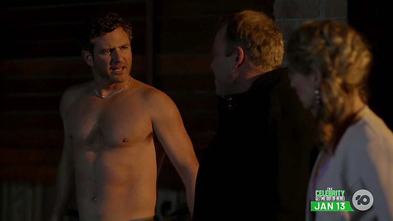 Bernard Curry sexy shirtless scene December 23, 2018, 11am