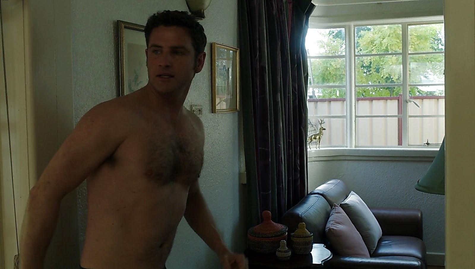 Bernard Curry sexy shirtless scene June 23, 2017, 1pm