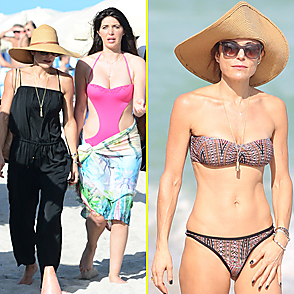 Bethenny Frankel latest sexy shirtless December 30, 2015, 7am
