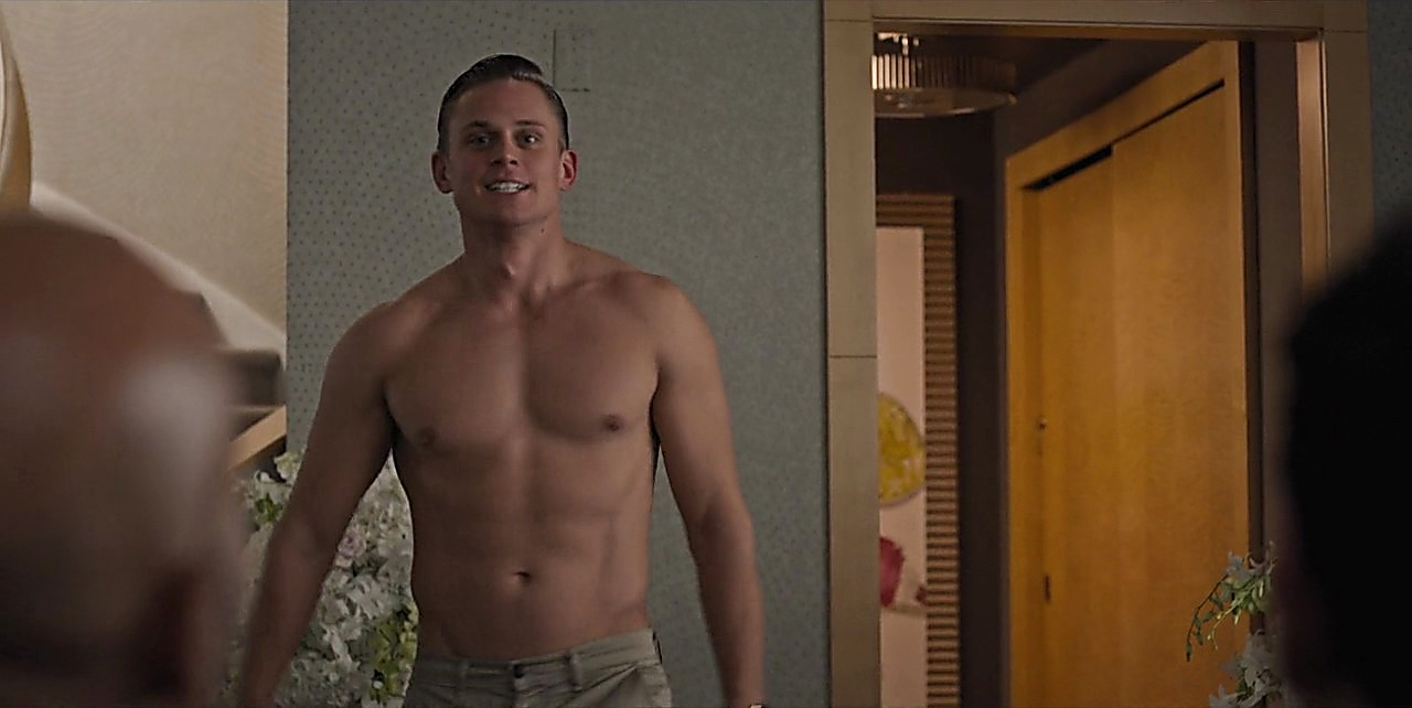 Billy Magnussen latest sexy shirtless scene July 14, 2017, 12pm