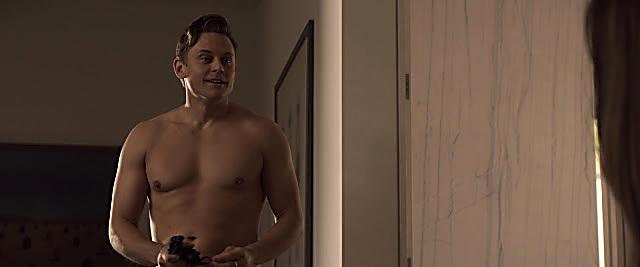 Billy Magnussen sexy shirtless scene April 1, 2021, 4am