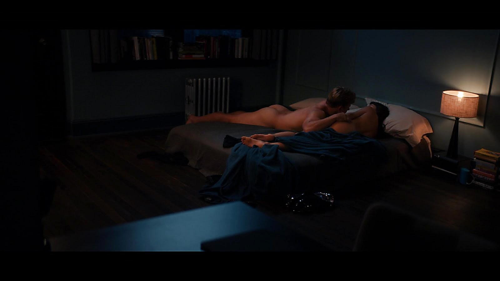 Billy Magnussen sexy shirtless scene October 31, 2018, 2pm