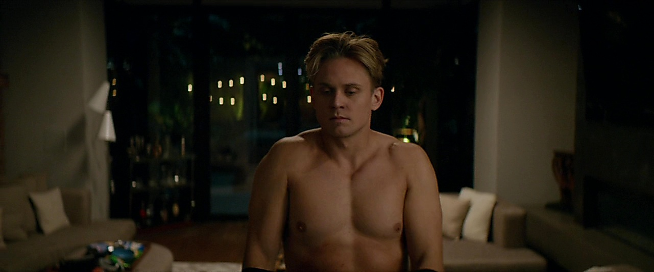 Billy Magnussen sexy shirtless scene November 29, 2018, 11am