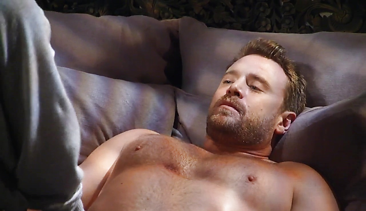 Billy Miller sexy shirtless scene October 7, 2017, 3pm