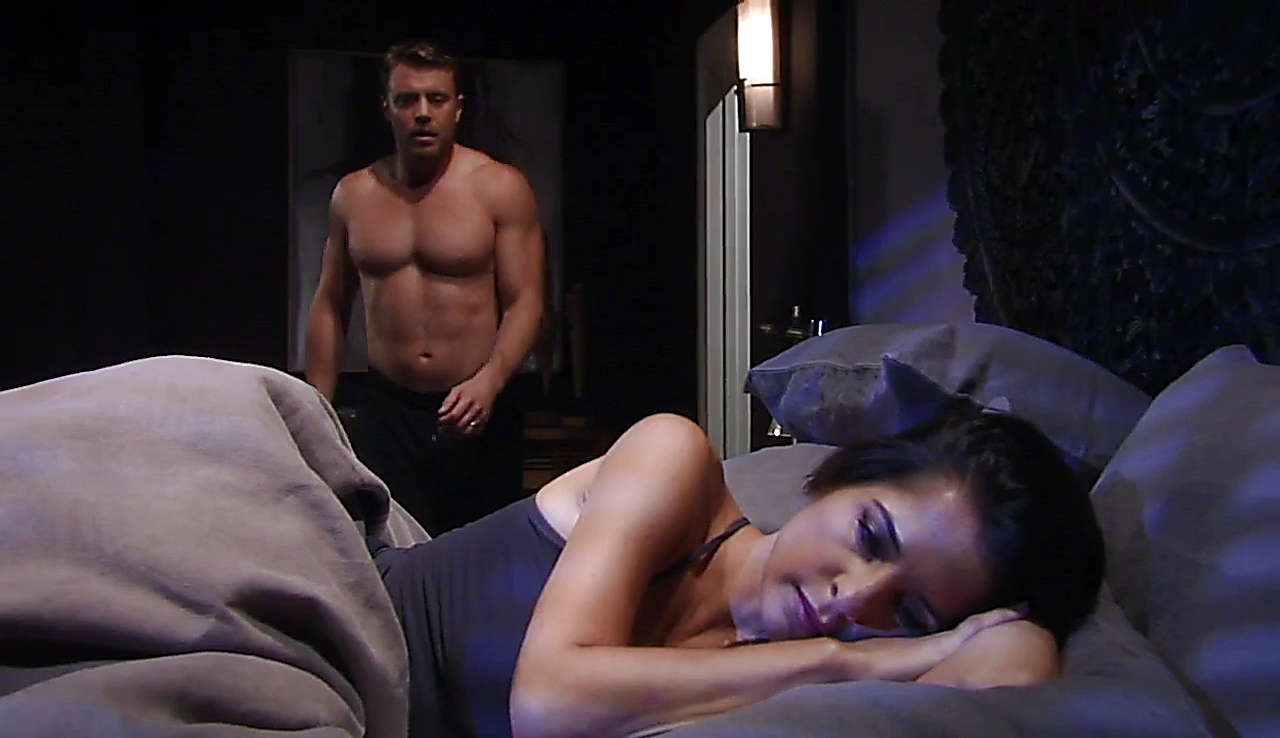 Billy Miller sexy shirtless scene August 29, 2017, 1pm