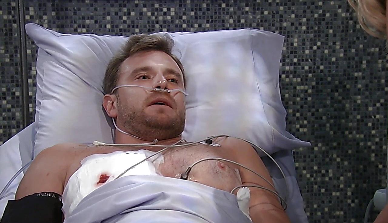 Billy Miller sexy shirtless scene September 2, 2017, 11am