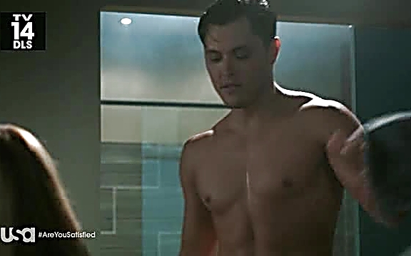 Blair Redford sexy shirtless scene July 27, 2014, 8pm