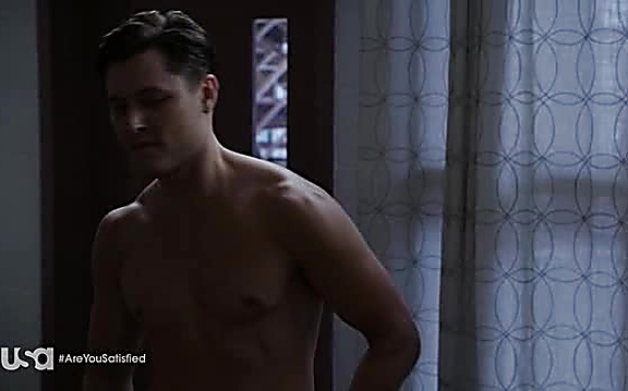Blair Redford sexy shirtless scene September 1, 2014, 1pm