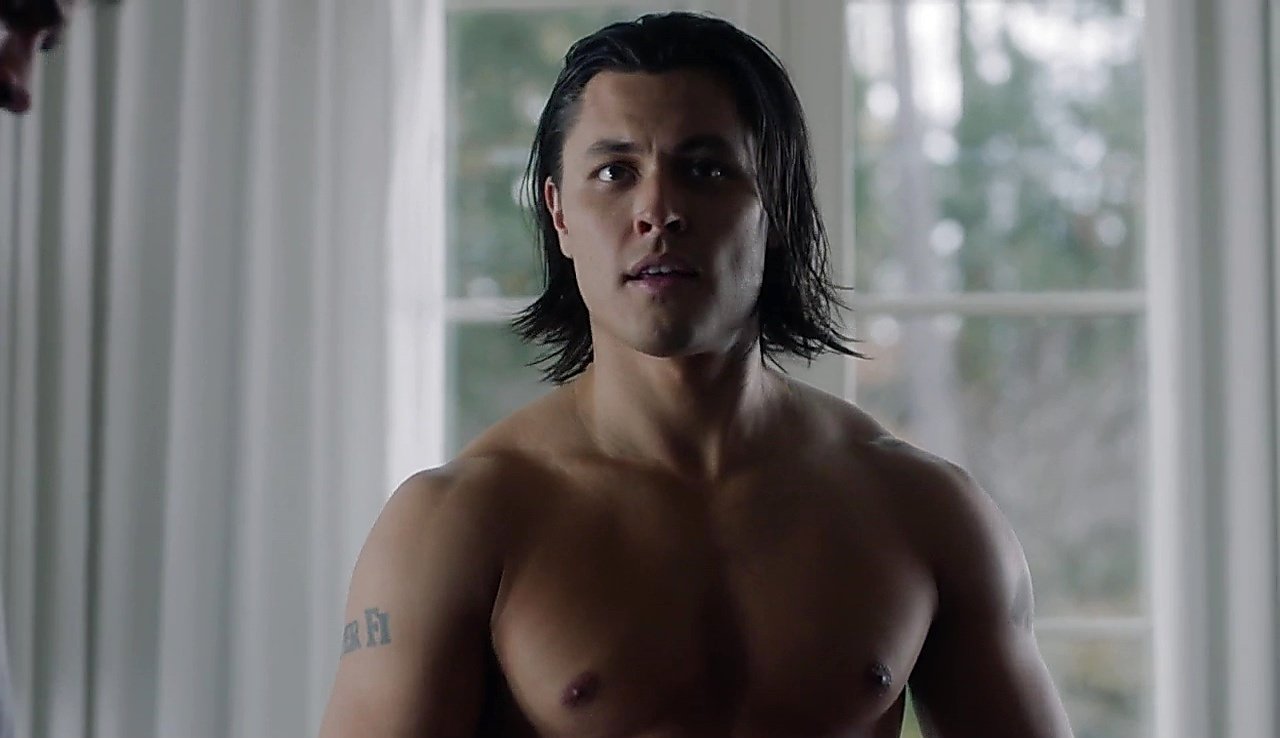 Blair Redford sexy shirtless scene January 16, 2018, 12pm