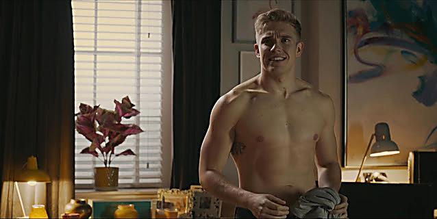 Bobby Lockwood sexy shirtless scene February 21, 2021, 10am