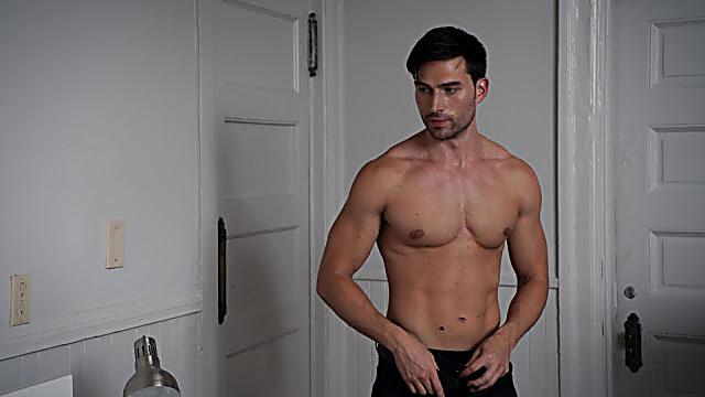 Brad Benedict sexy shirtless scene June 11, 2021, 5am