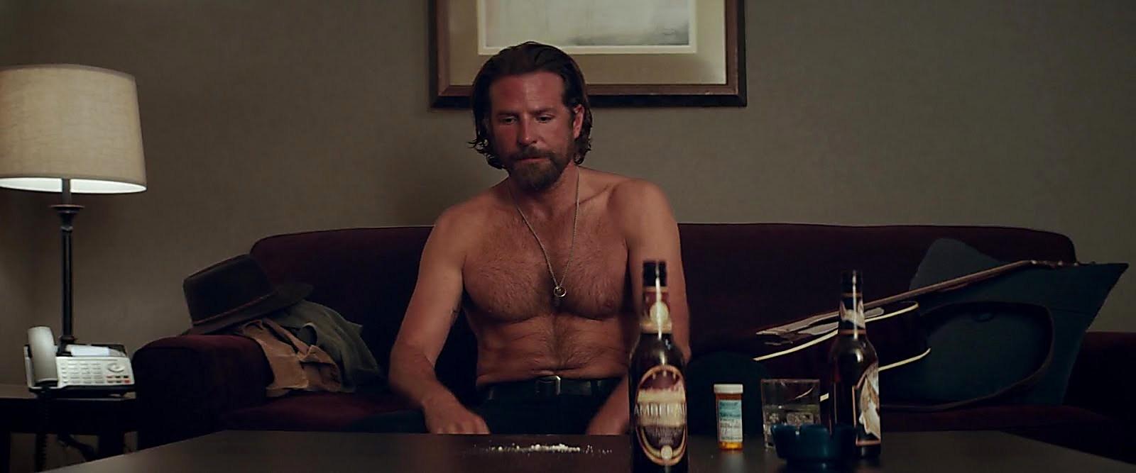 Bradley Cooper sexy shirtless scene January 20, 2019, 8am