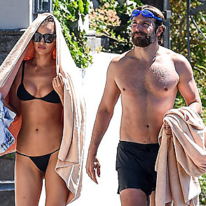 Bradley Cooper latest sexy shirtless July 21, 2016, 7pm