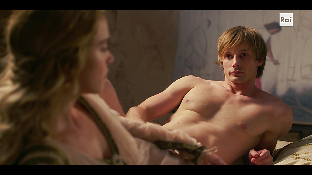 Bradley James sexy shirtless scene October 31, 2018, 2am