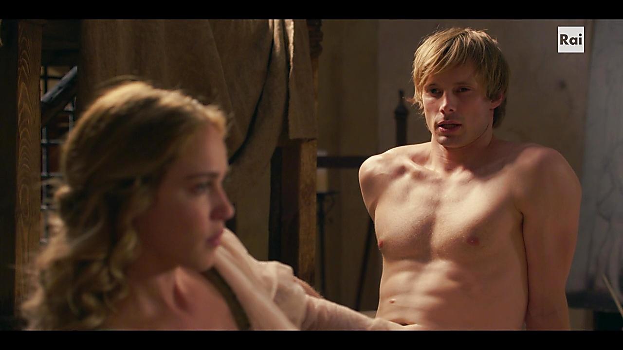 Bradley James sexy shirtless scene October 31, 2018, 2am