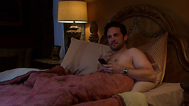 Brandon Barash sexy shirtless scene February 25, 2021, 5am