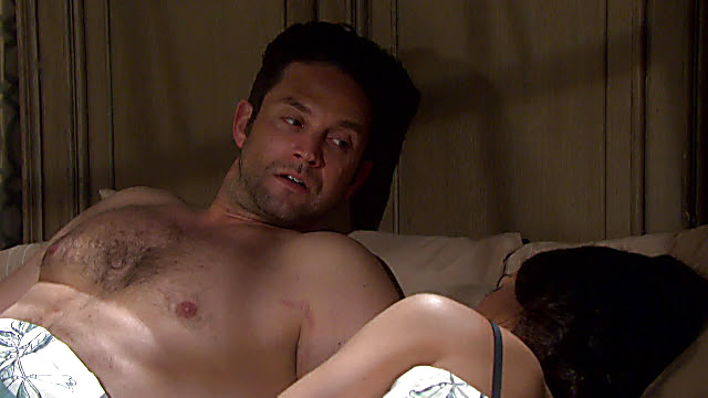 Brandon Barash sexy shirtless scene May 22, 2021, 12pm