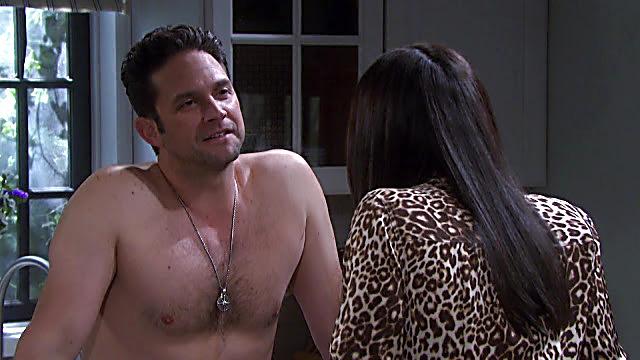 Brandon Barash sexy shirtless scene July 15, 2021, 1pm