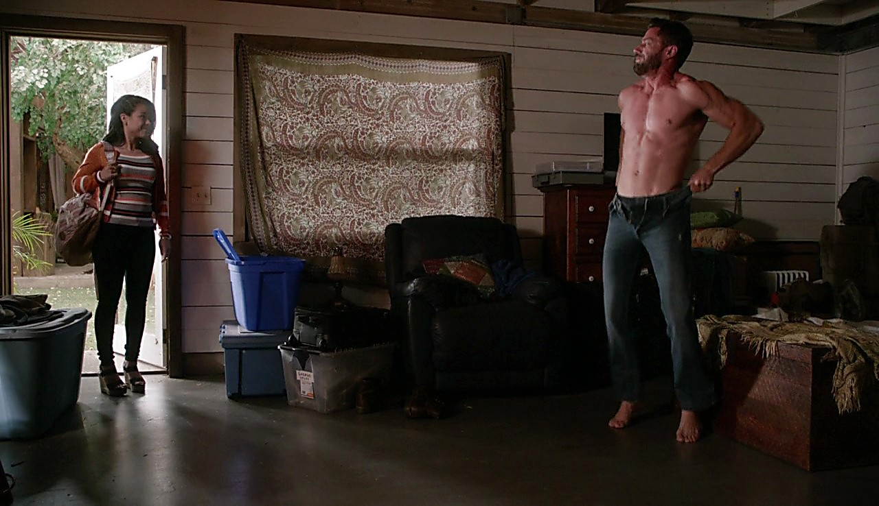 Brandon Quinn sexy shirtless scene July 20, 2017, 3pm