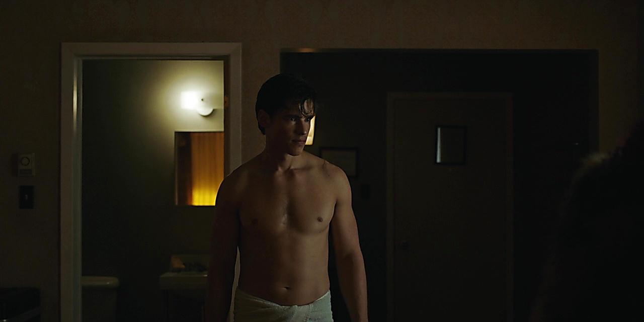 Brenton Thwaites sexy shirtless scene November 2, 2019, 1pm