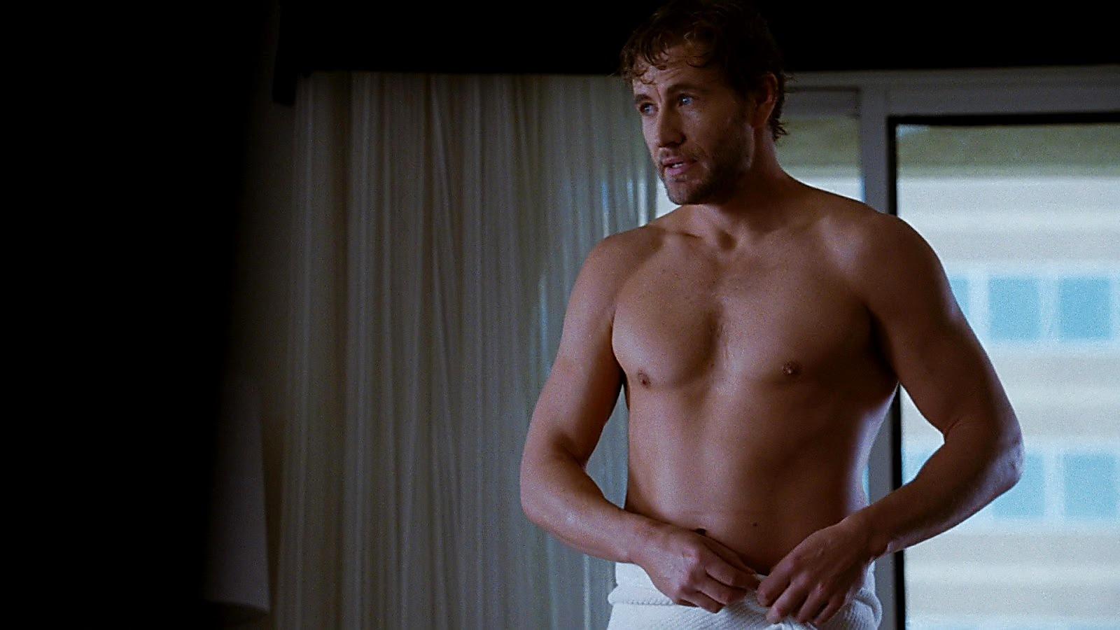 Brett Tucker sexy shirtless scene June 8, 2020, 3pm