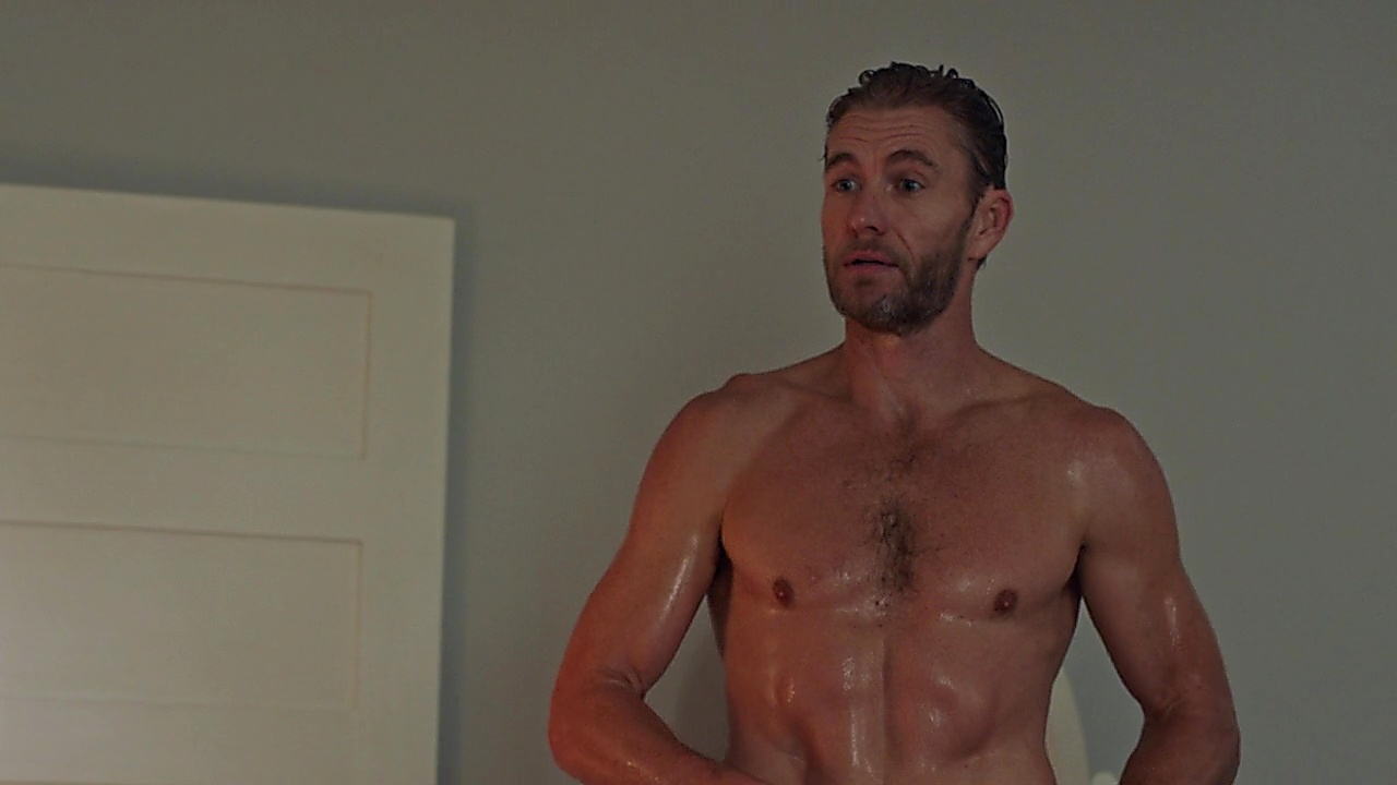 Brett Tucker sexy shirtless scene March 15, 2019, 12pm