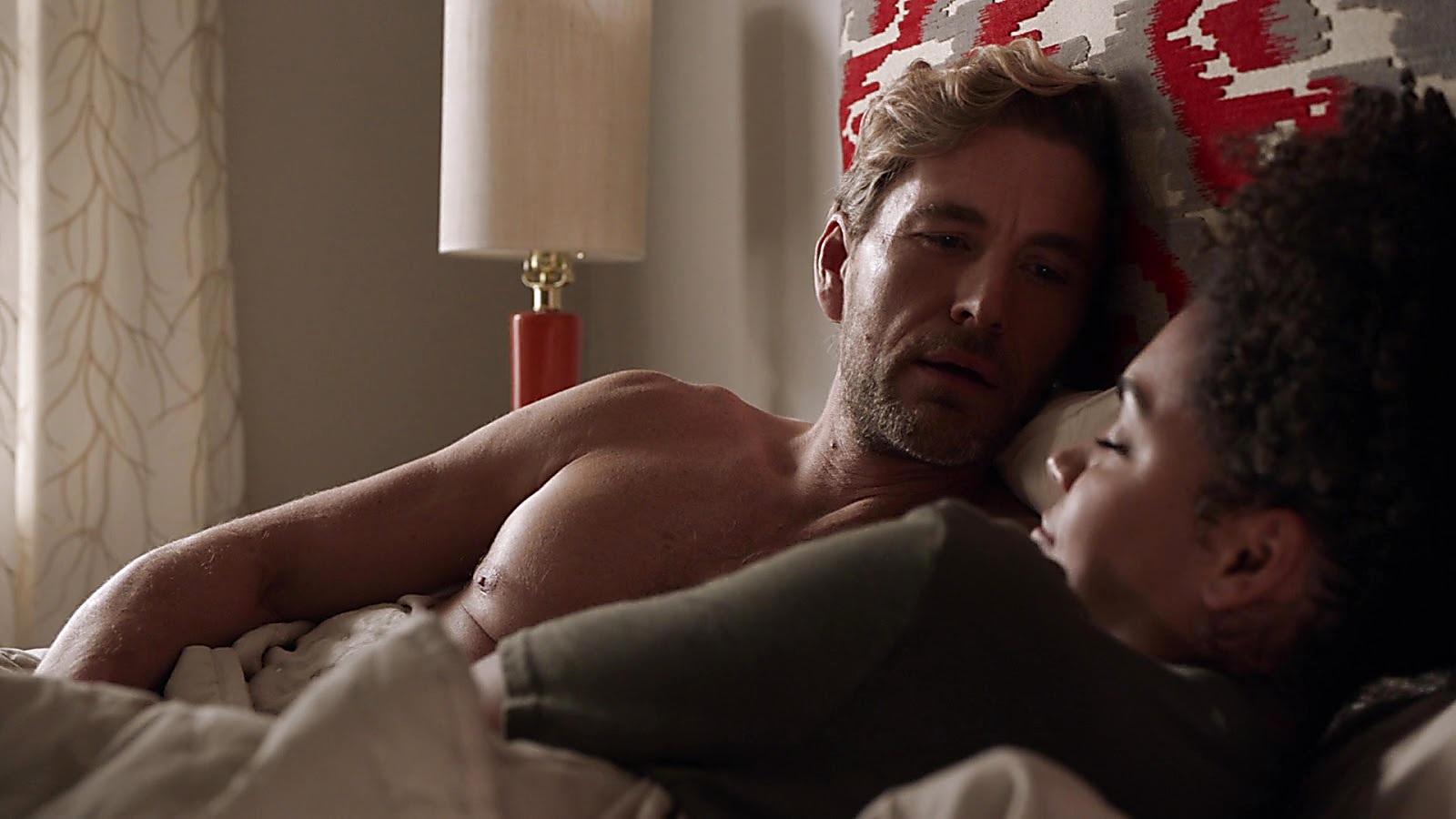 Brett Tucker sexy shirtless scene April 12, 2019, 10am