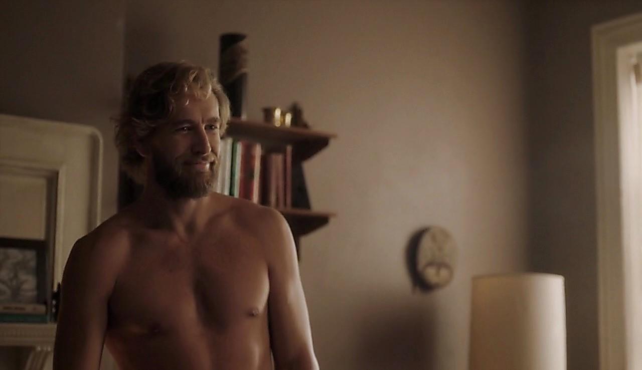 Brett Tucker sexy shirtless scene April 12, 2017, 12pm