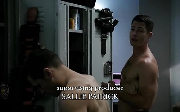 Brian Hallisay sexy shirtless scene October 17, 2014, 11pm