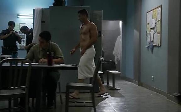 Brian Hallisay sexy shirtless scene October 19, 2014, 10pm