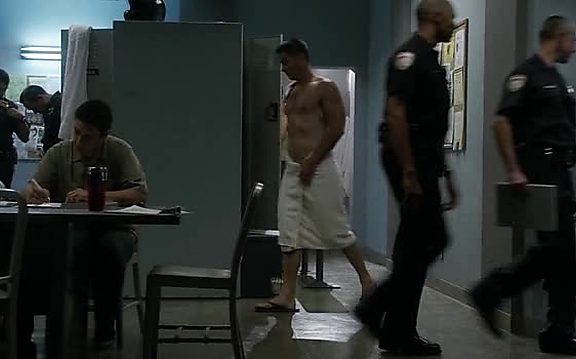 Brian Hallisay sexy shirtless scene October 19, 2014, 10pm